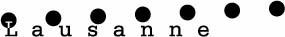 logo lausanne