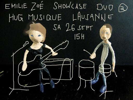 Showcase @ Hug Musique 26.09.2015