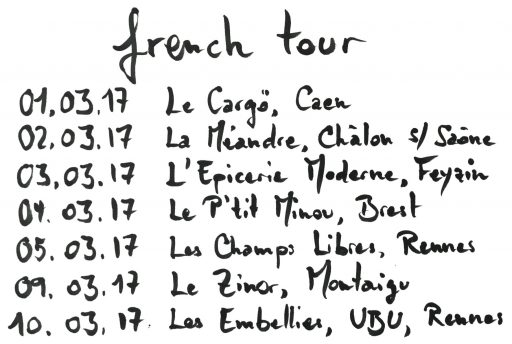 French Tour March 2017